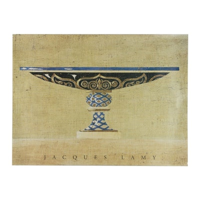 """Offset Lithograph after Jacques Lamy """"Cleopatra"""""""