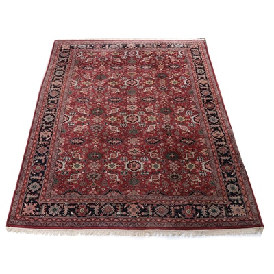 10'1 x 14'1 Hand-Knotted Indo-Persian Mahal Room Size Rug, 2000s