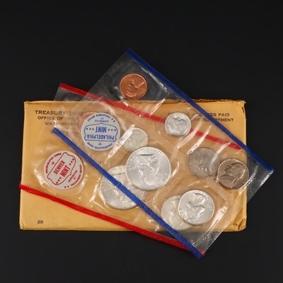 1960 U.S. Mint Uncirculated Silver Set