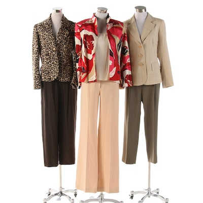 Dana Buchman Jacket and Trousers with Garfield & Marks and Other Separates