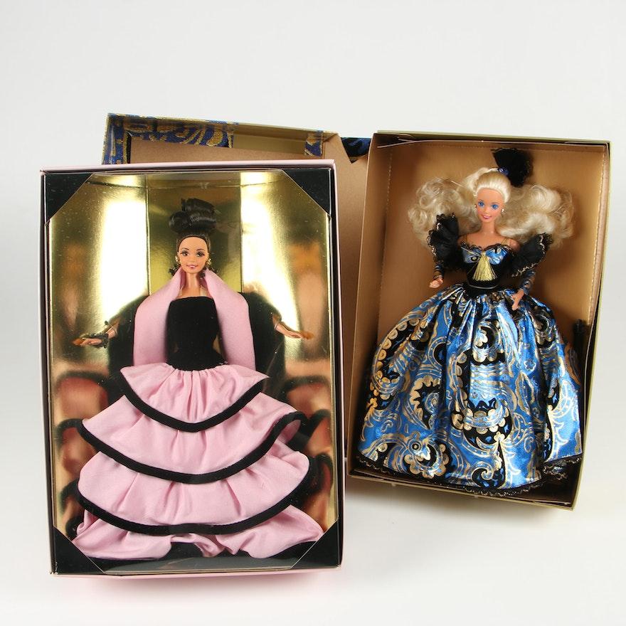 Spiegel and Escada Limited Edition Barbie Fashion Dolls