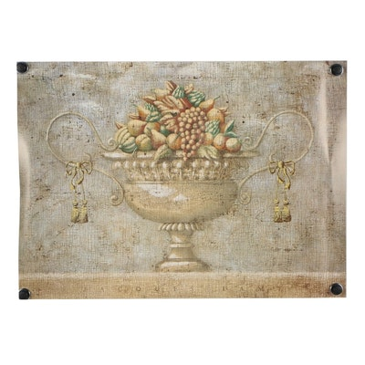 """Offset Lithograph after Jacques Lamy """"Verona with Fruit"""""""