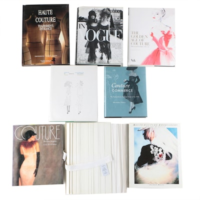 "Haute Couture Fashion Books Featuring ""In Vogue"" by Angeletti and Oliva, 2006"