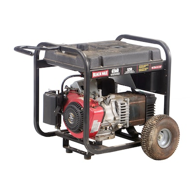 Subaru Black Max 6560 Portable Gas Operated Generator