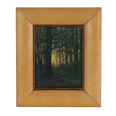 Steve Langenecker Landscape Oil Painting