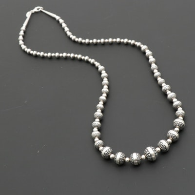Carolyn Relios Sterling Silver Necklace