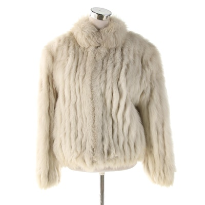 Saga Fox Fur Zip Jacket From Wilsons