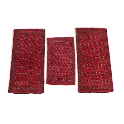 2'2 x 4'5 Hand-Knotted Pakistan Bokhara Wool Rugs