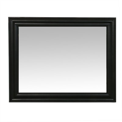 "4'10"" x 3'10"" Oversize Wood-Framed Mirror with Beveled Glass"