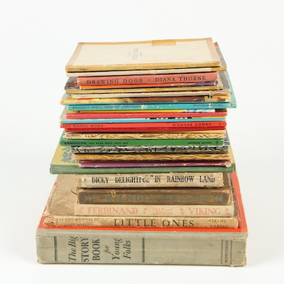 "First Edition ""Little Ones"" with More Children's Books including Wonder Books"