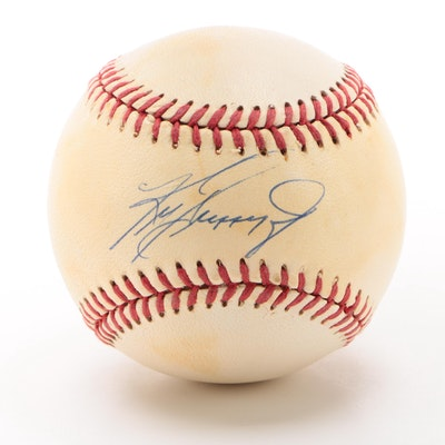 Ken Griffey Jr. Signed Rawlings American League Baseball, circa 1990s