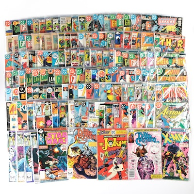 """Bronze Age Marvel and DC Comics Grouping Including """"Star Wars"""" and """"The Joker"""""""