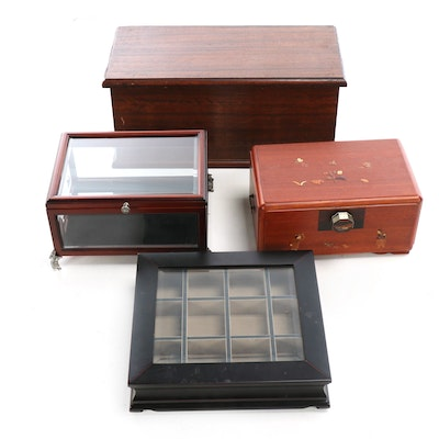 Decorative Boxes for Storage, Display, and Jewelry Purposes, Contemporary