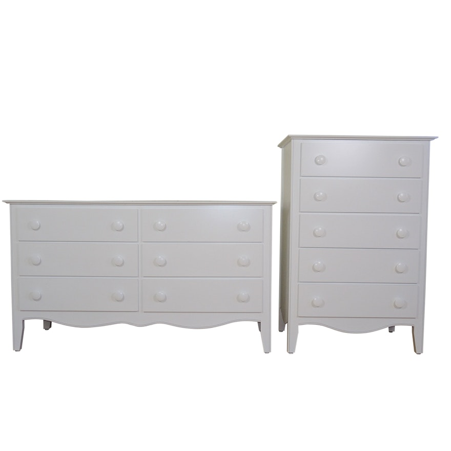 The Company Store Dresser and Chest of Drawers