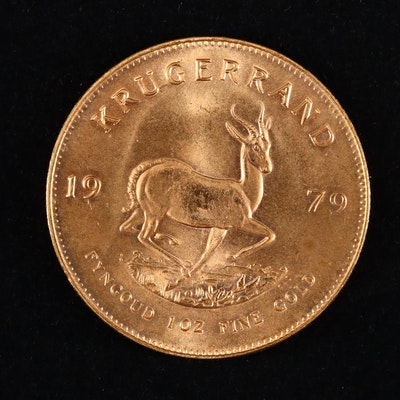 1979 South Africa One Ounce Gold Krugerrand