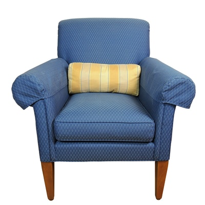 Ethan Allen Upholstered Armchair
