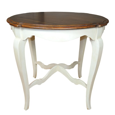 "Ethan Allen ""Country French"" Side Table"