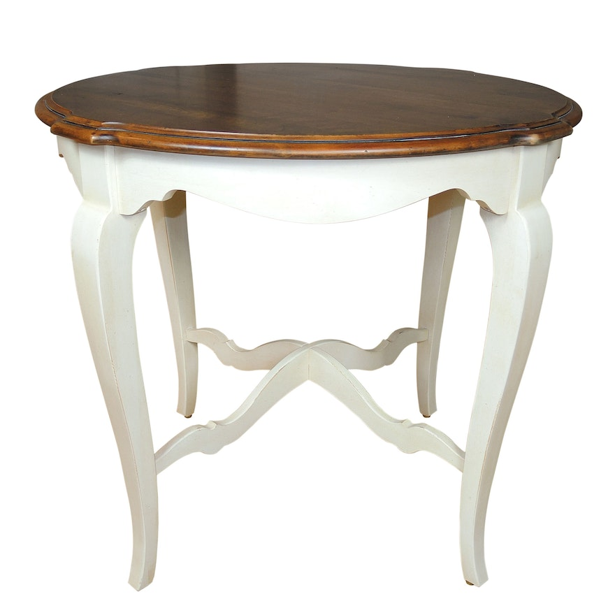 Ethan Allen Country French Side Table