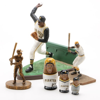 Roberto Clemente Pittsburgh Pirates Baseball Statues, Contemporary