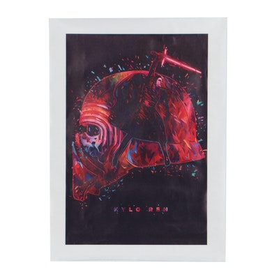Giclee Print of Kylo Ren
