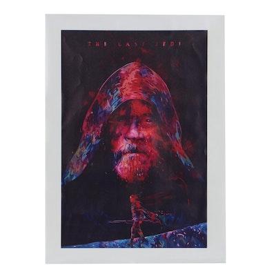 Giclee Print of Luke Skywalker