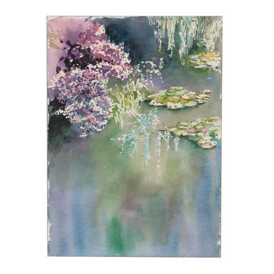 Margaret Voelker-Ferrier Watercolor Painting