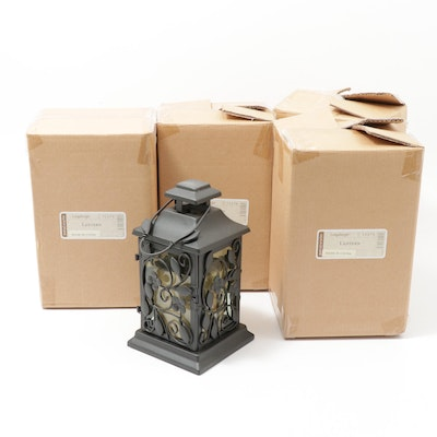 Longaberger At Home Garden Collection Metalworks Lanterns