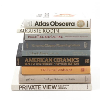 "Art Books Including ""American Ceramics: 1876 to the Present"" and Others"