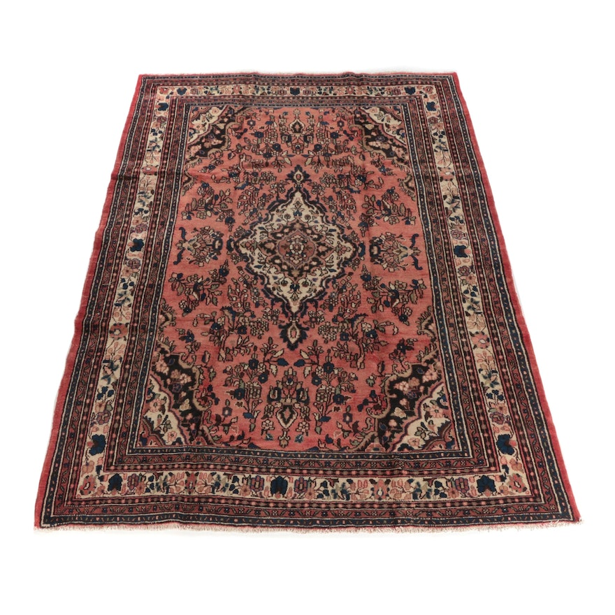 8'2 x 12'2 Hand-Knotted Persian Mehriban Wool Rug