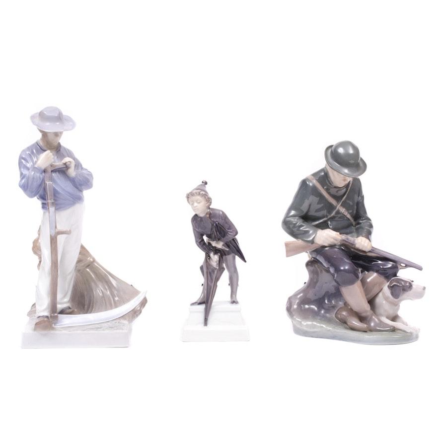 Royal Copenhagen Porcelain Figurines