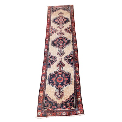 2'3 x 9'6 Hand-Knotted Persian Rug Runner