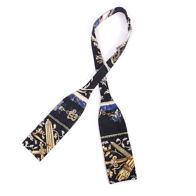 Men's Hermès Paris Silk Bow Tie