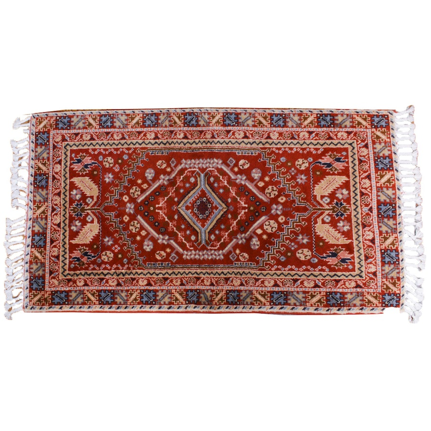 2'8 x 5'3 Hand-Knotted Persian Accent Rug