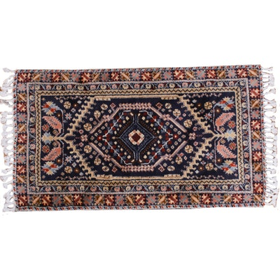 2'8 x 5'3 Hand-Knotted Caucasian Accent Rug