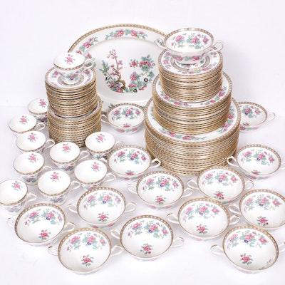 "Aynsley ""Indian Tree"" Porcelain Dinnerware, Mid-20th Century"