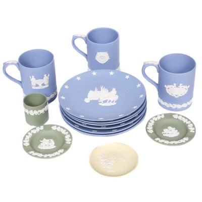 Wedgwood Jasperware Plates, Mugs and Other Tableware