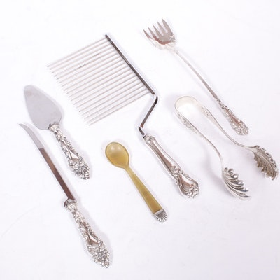 Frank M. Whiting, Webster and Other Sterling Silver Serving Utensils