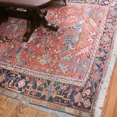 7' x 10'10 Hand-Knotted Persian Rug