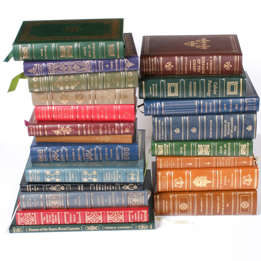 """""""Mental Maladies"""" and Other Leather Bound Medical Books"""