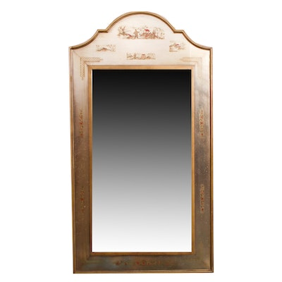 East Asian Style Decorative Wall Mirror