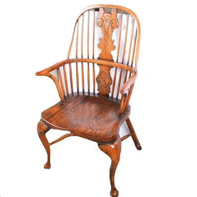 Batheaston Chairmakers, Commemorative Oak Windsor Chair, 1981