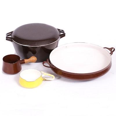Dansk Emaneled Cookware, Mid-20th Century
