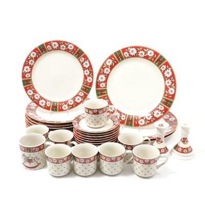 "Kobe ""Charlton Hall"" Porcelain Dinnerware, Late 20th Century"