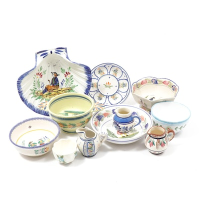 HB Quimper, Quimper Faïence and Other Earthenware Serveware