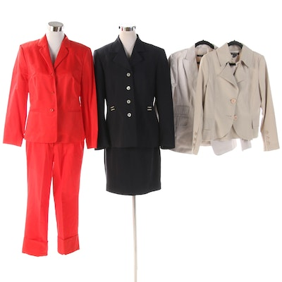 Sandra Angelozzi Jacket, Hirsch Pantsuit and Other Suit Separates
