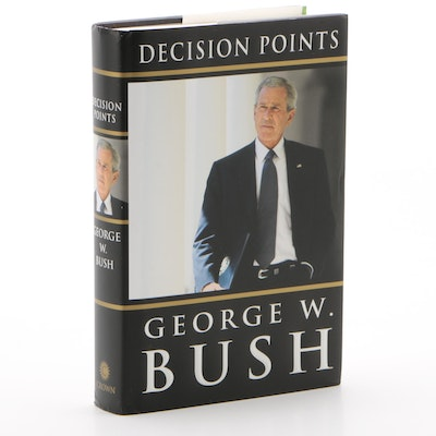 "George W. Bush Signed ""Decision Points"" First Edition Hardcover Book, 2010 JSA"
