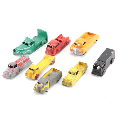 Die Cast Toy Trucks Including Tootsie, circa 1930s-1940s