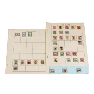 North Borneo British Protectorate Postage Stamps