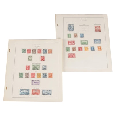 Canadian Postage Stamps, 19th and 20th Century