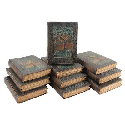 """1916 """"Little Journeys"""" by Elbert Hubbard, Ten Volumes"""